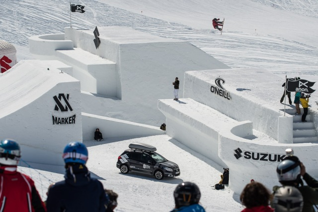Suzuki Nine Queens 2014 presented by O'Neill – Day 4 Big Air Contest